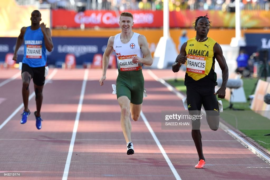 ATHLETICS-CGAMES-2018-GOLD-COAST : News Photo