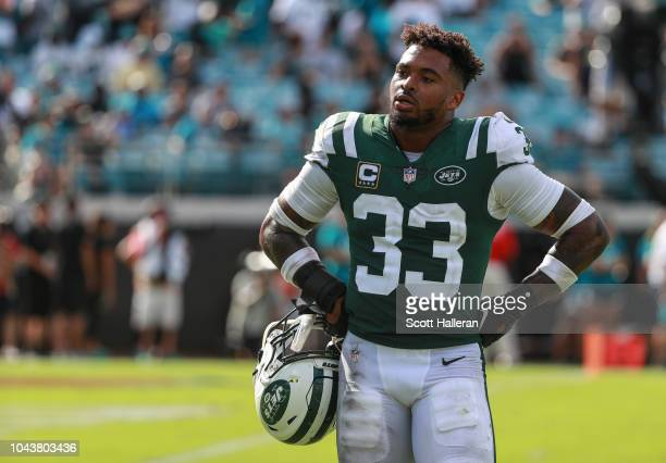Jamal Adams of the New York Jets is seen during the second half of the game against the Jacksonville Jaguars at TIAA Bank Field on September 30 2018...
