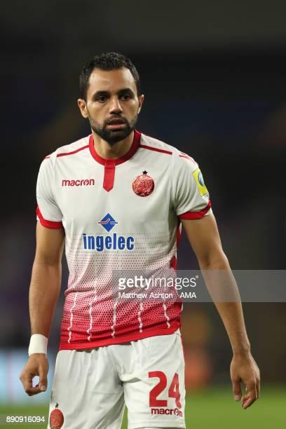 Jamal Ait Ben Idir of Wydad Casablanca in action during the FIFA Club World Cup UAE 2017 fifth place playoff match between Wydad Casablanca and Urawa...