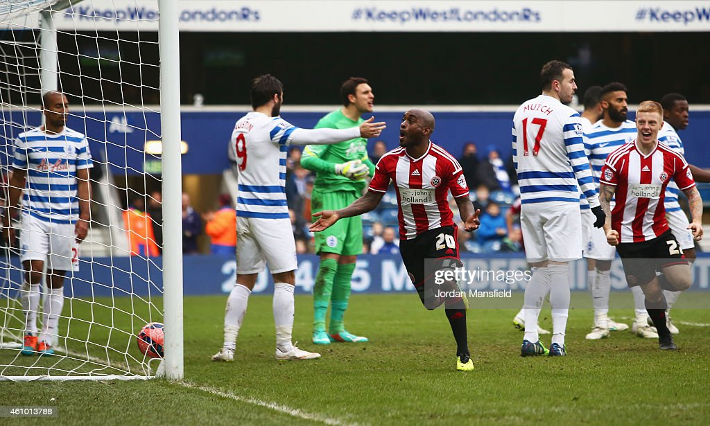 Queens Park Rangers v Sheffield United - FA Cup Third Round : News Photo