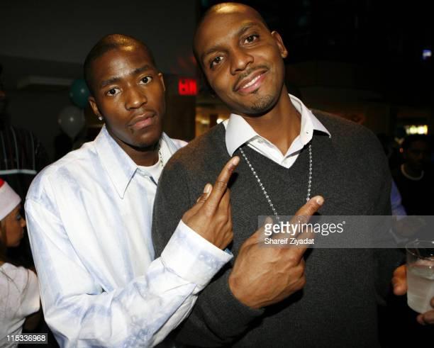 Jamal Crawford of NY Knicks and Anfernee Hardaway of NY Knicks