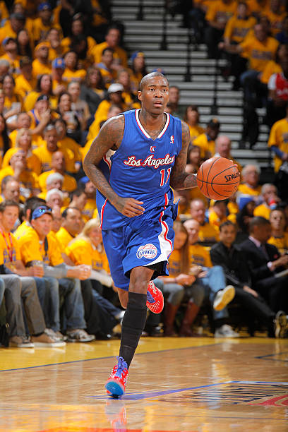 Jamal Crawford of the Los Angeles Clippers vs. Warriors