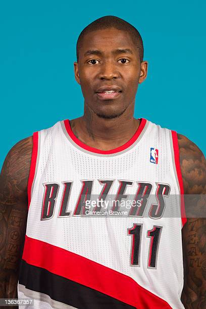 Jamal Crawford of the Portland Trail Blazers poses for a portrait during Media Day on December 16 2011 at the Rose Garden Arena in Portland Oregon...