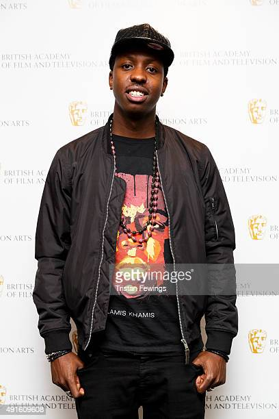 Jamal Edwards attends a photocall for the BAFTA Breakthrough Brits Jury at BAFTA on October 6 2015 in London England