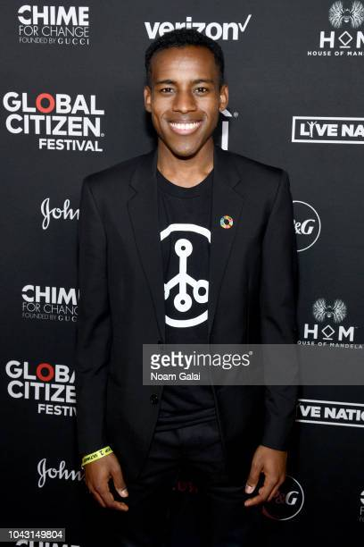 Jamal Edwards attends the 2018 Global Citizen Festival Be The Generation in Central Park on September 29 2018 in New York City