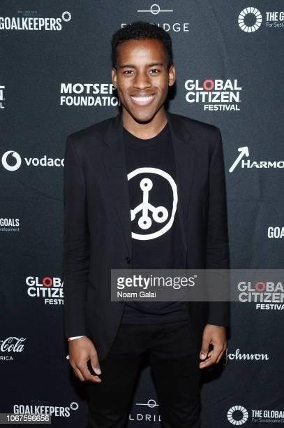 Jamal Edwards attends the Global Citizen Festival Mandela 100 at FNB Stadium on December 2 2018 in Johannesburg South Africa