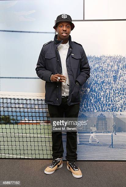 Jamal Edwards attends the Lacoste VIP Lounge on day six of the ATP World Finals 2014 at 02 Arena on November 14 2014 in London England