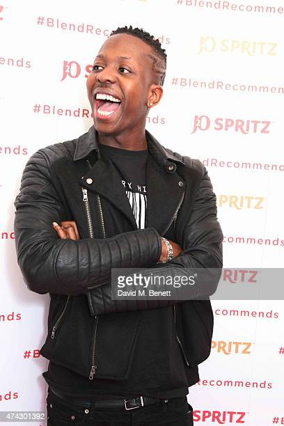 Jamal Edwards attends the launch of J2O Spritz hosted by Millie Mackintosh at The White Space on May 21 2015 in London England