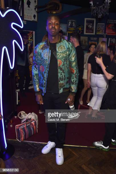 Jamal Edwards attends the TOPMAN LFWM party during London Fashion Week Men's June 2018 at the Phoenix Artist Club on June 8 2018 in London England