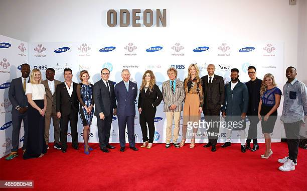 Jamal Edwards Fearne Cotton Labrinth Simon Cowell Darcey Bussell Kevin Spacey Prince Charles Prince of Wales Ella Henderson Rod Stewart Penny...