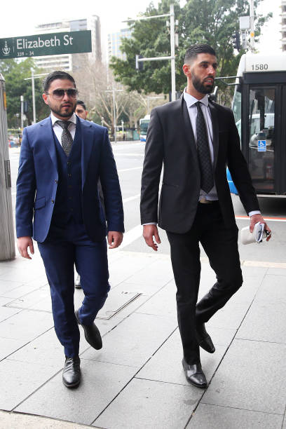 AUS: Jamal Eljaidi Attends Court For Trial Over Murder Of Mick Hawi