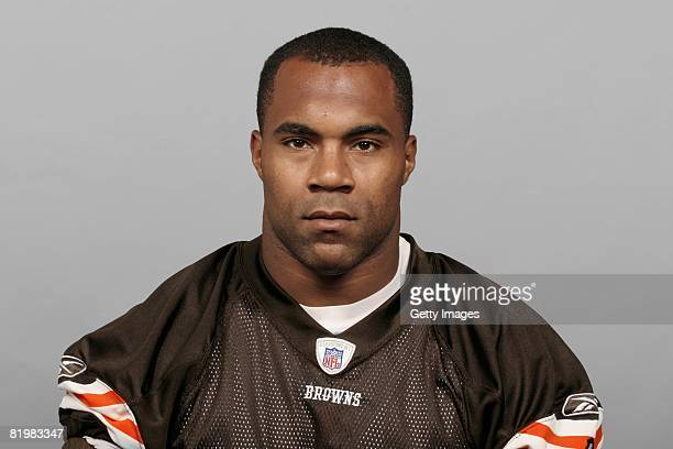 Jamal Lewis of the Cleveland Browns poses for his 2008 NFL headshot at photo day in Cleveland Ohio