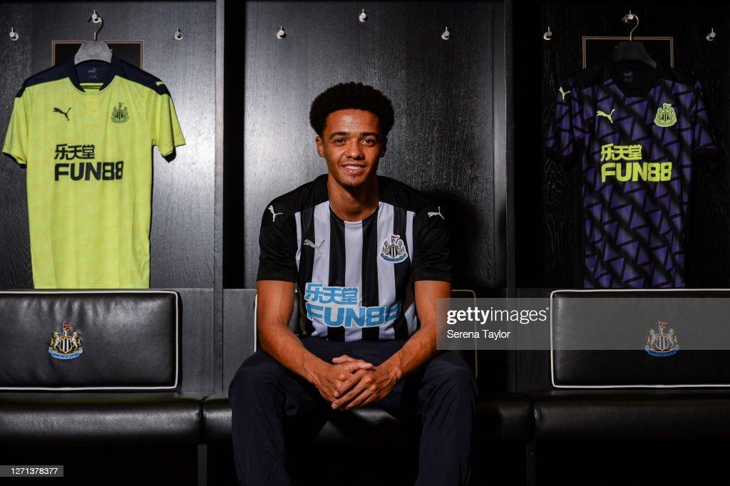 Newcastle United Unveil New Signing Jamal Lewis : News Photo