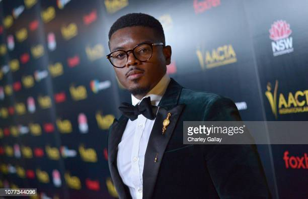 Jamal MalloryMcCree attends the 8th AACTA International Awards on January 4 2019 in Los Angeles California