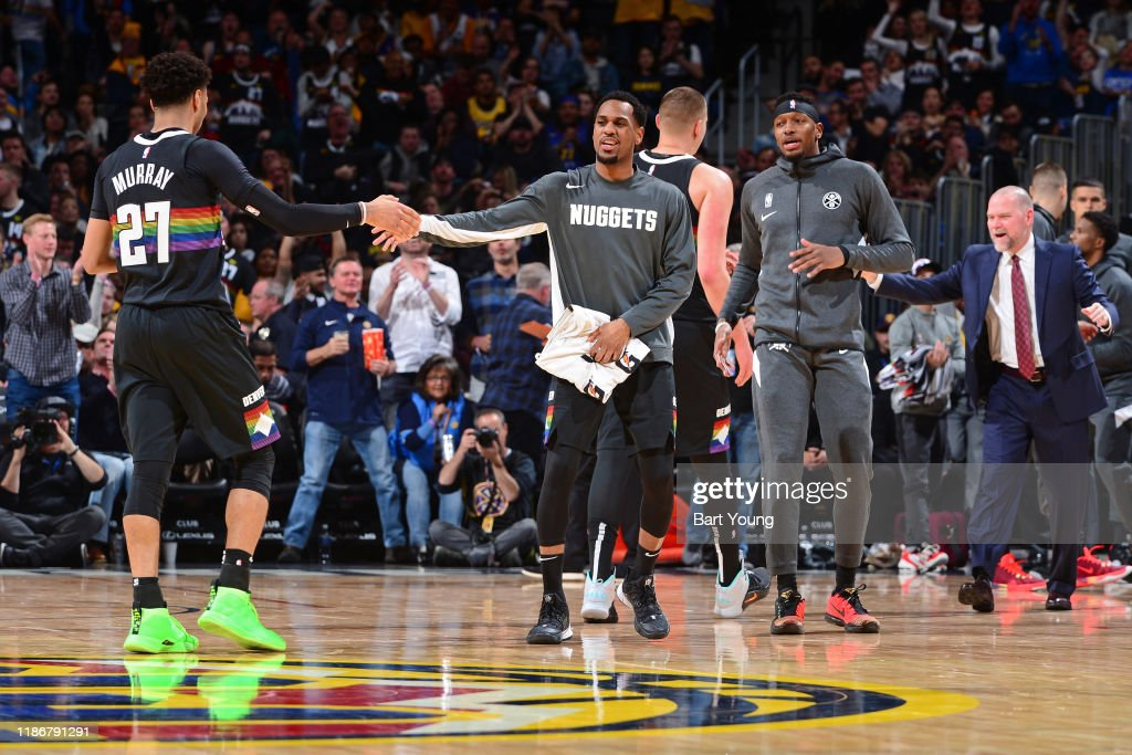 Los Angeles Lakers v Denver Nuggets : News Photo
