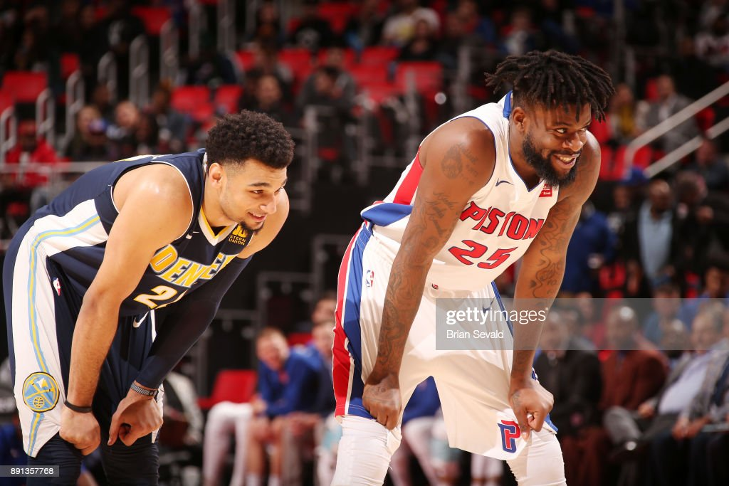 Denver Nuggets v Detroit Pistons