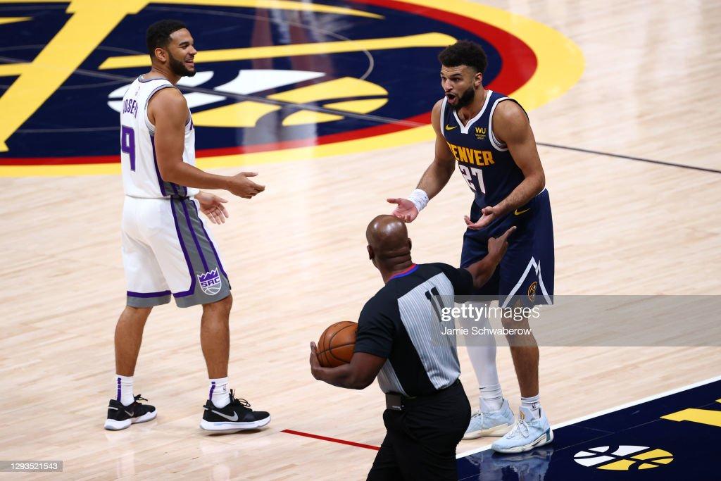 Sacramento Kings v Denver Nuggets : News Photo