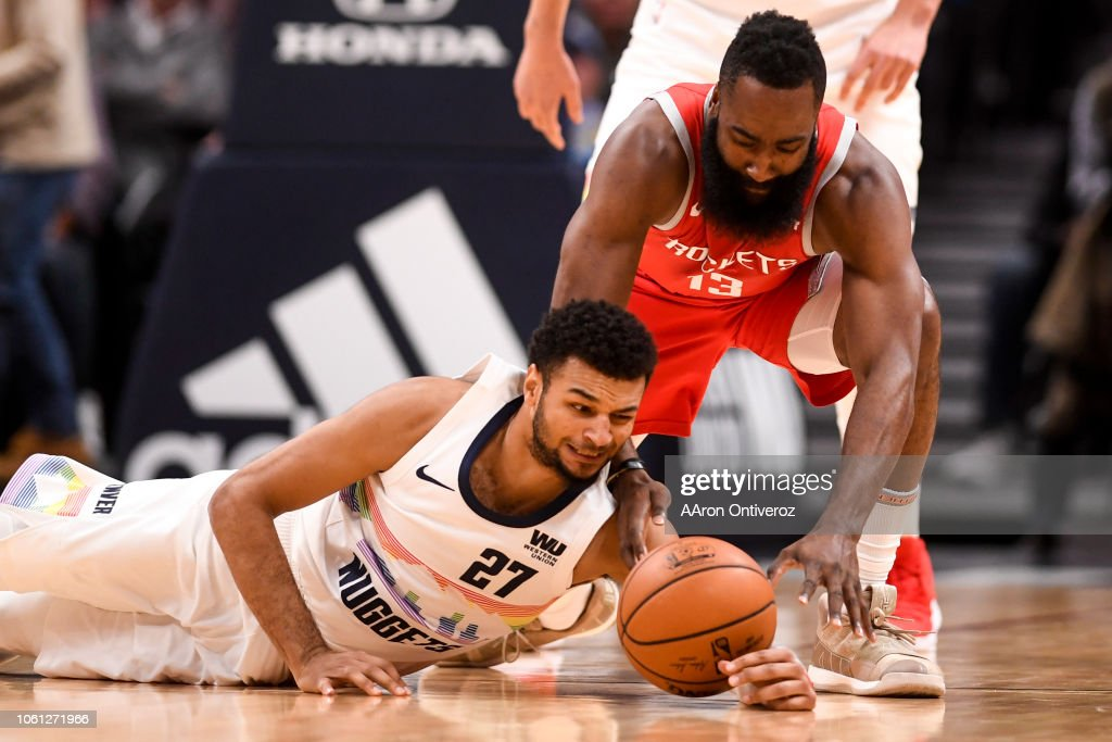 DENVER NUGGETS VS HOUSTON ROCKETS, NBA : News Photo