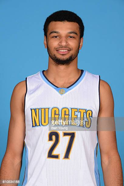 Jamal Murray of the Denver Nuggets poses for a head shot during the 20162017 Media Day on September 26 2016 at the Pepsi Center in Denver Colorado...