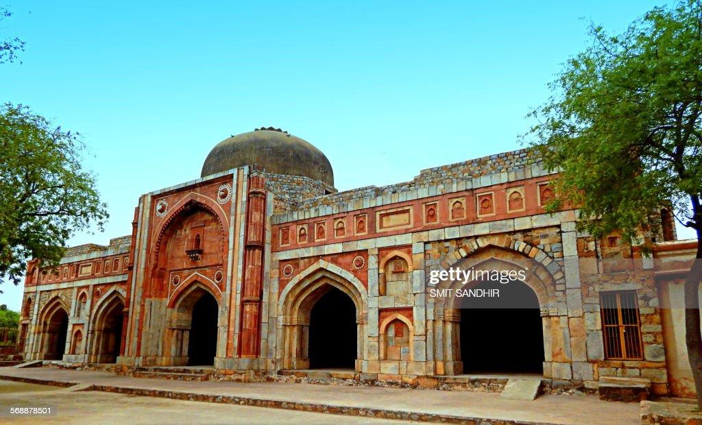 Jamali kamali mosque : Stock Photo