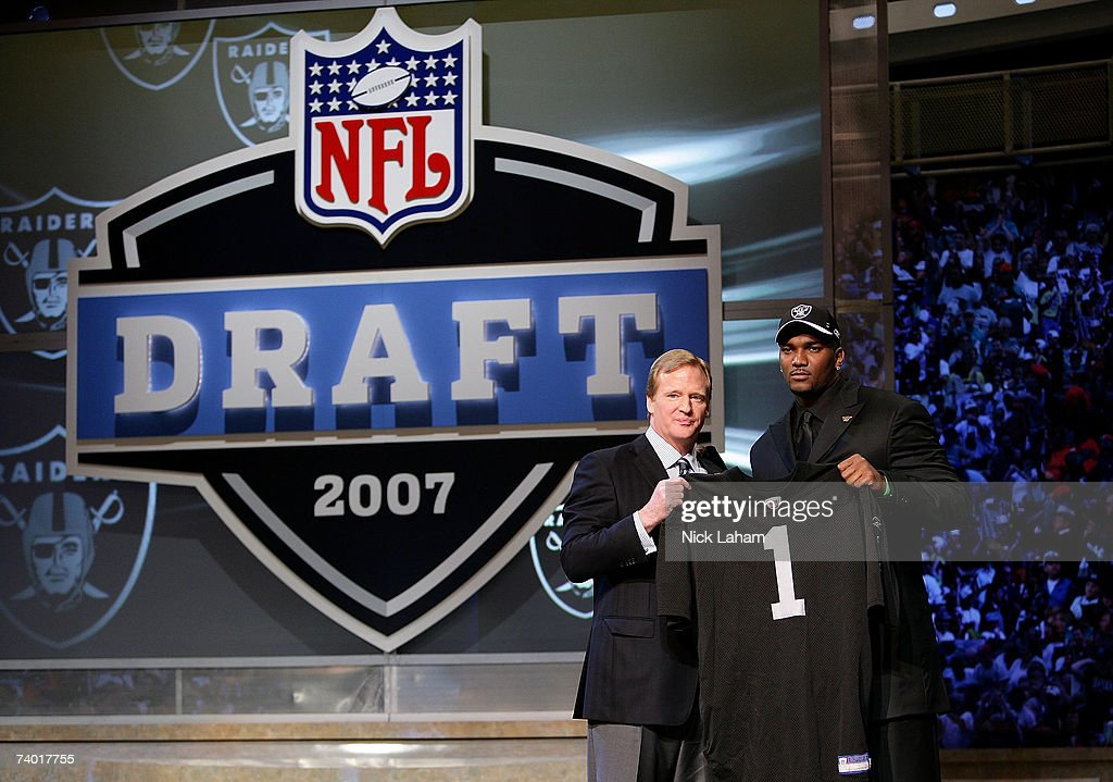 JaMarcus Russell Feature : News Photo