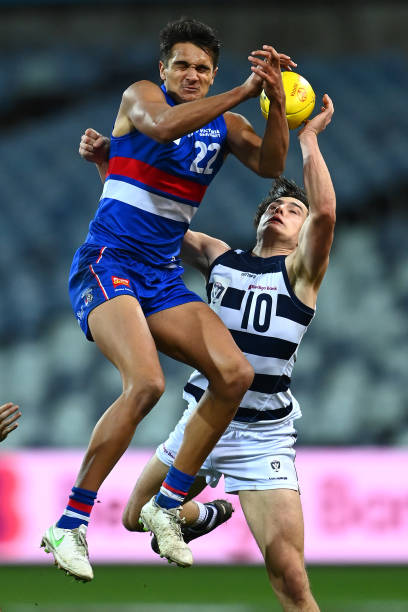 AUS: AFL Rd 13 - Geelong v Western Bulldogs