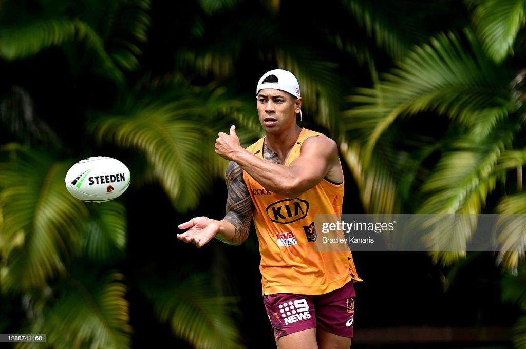 Brisbane Broncos Training Session : News Photo