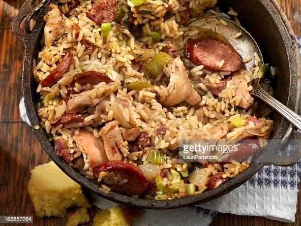 jambalaya - creole culture stock pictures, royalty-free photos & images