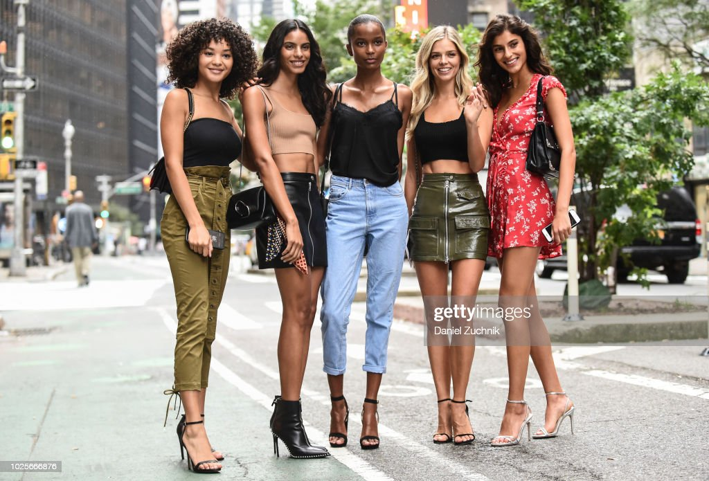 Victoria's Secret Casting Sightings : News Photo
