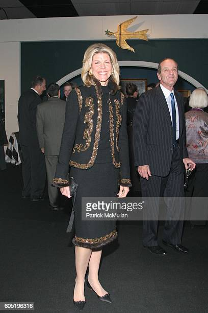 Jamee Gregory and Peter Gregory attend The 52nd Annual Winter Antiques Show Opening Night Party at The Seventh Regiment Armory on January 19 2006 in...