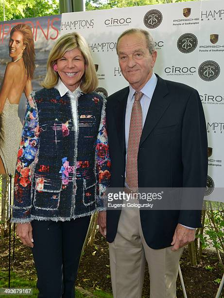 Jamee Gregory and Peter Gregory attend the Hamptons Magazine Celebration of Memorial Day Cover Star Heidi Klum on May 24 2014 in Southampton New York