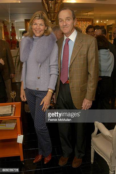 Jamee Gregory and Peter Gregory attend The New York Premier of Michelle Marie's Winter Trees on Oak Panel Boxes at Todd Romano on February 26 2007 in...