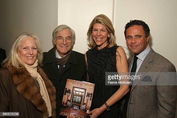 Jamee Gregory and Tony Ingrao attend Celebration for the Publication of New York Apartments Private Views by Jamee Gregory at Ingrao Gallery on...