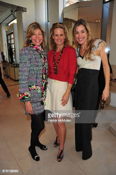 Jamee Gregory Ashley McDermott and Marisa Noel Brown attend VALENTINO Spring/ Summer 2010 Collection Private Luncheon and Presentation hosted by...