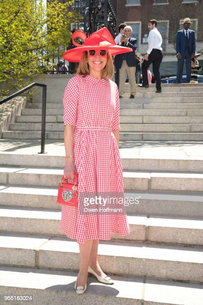 Jamee Gregory attends 36th Annual Frederick Law Olmsted Awards Luncheon Central Park Conservancy at The Conservatory Garden in Central Park on May 2...