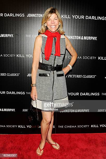 """Jamee Gregory attends The Cinema Society and Johnston & Murphy host a screening of Sony Pictures Classics' """"Kill Your Darlings"""" at the Paris Theatre..."""