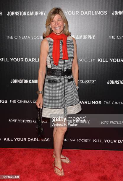 Jamee Gregory attends The Cinema Society and Johnston Murphy screening of Sony Pictures Classics' Kill Your Darlings at Paris Theater on September 30...