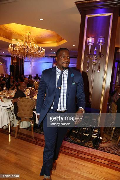 Jameel McClain attends The 56th Anniversary Founders Gala at The Surf Club on May 29 in New Rochelle City