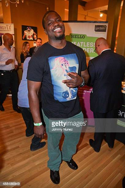 Jameel McClain attends the Draft Classic Schuyler Gifting Suite at a private residence on May 6 2014 in New York City