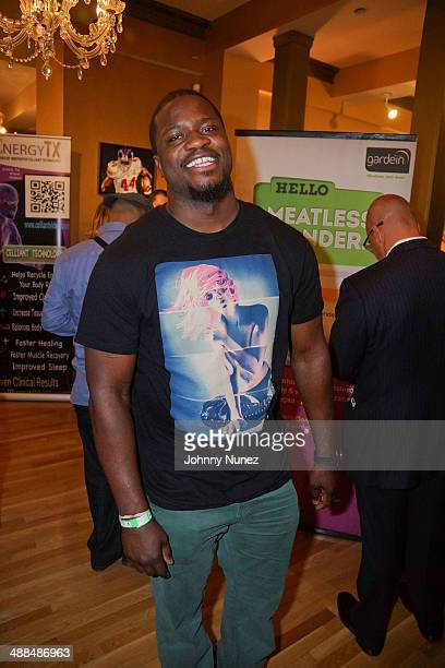 Jameel McClain attends the Draft Classic Schuyler Gifting Suite at Gilded Lily on May 6 2014 in New York City