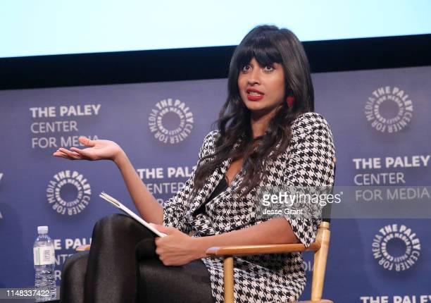 Jameela Jamil actress activist founder of I_Weigh attends the VICE on HBO Emmy FYC Event on May 10 2019 in Beverly Hills California