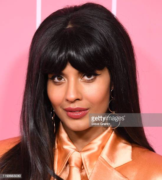 Jameela Jamil arrives at the 2019 Billboard Women In Music at Hollywood Palladium on December 12, 2019 in Los Angeles, California.