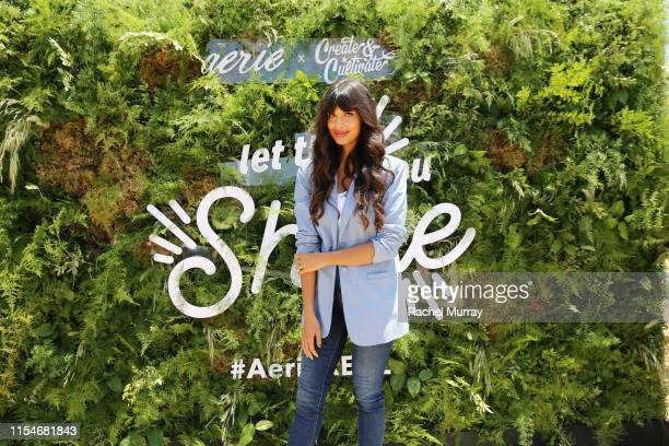 Jameela Jamil attends Aerie REALTreat in Collaboration with Create Cultivate on June 08 2019 in Los Angeles California