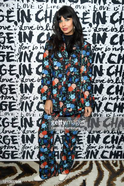 Jameela Jamil attends Diane Von Furstenberg's InCharge Conversations 2020 Presented by Mastercard on March 06 2020 in New York City