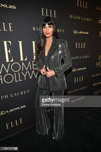 Jameela Jamil attends ELLE's 26th Annual Women In Hollywood Celebration Presented By Ralph Lauren And Lexus at The Four Seasons Hotel Los Angeles on...