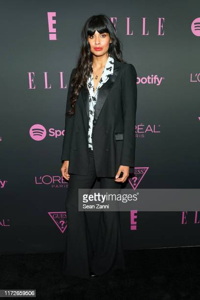Jameela Jamil attends Nina Garcia Jameela Jamil E Entertainment Host ELLE Women In Music Presented by Spotify at The Shed on September 05 2019 in New...