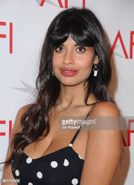 Jameela Jamil attends the 18th Annual AFI Awards at the Four Seasons Hotel on January 5 2018 in Los Angeles California