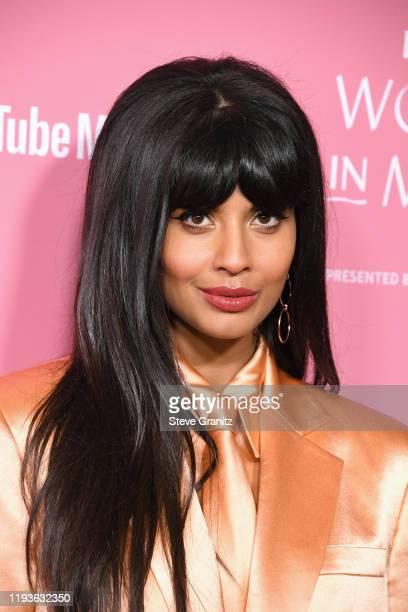 Jameela Jamil attends the 2019 Billboard Women In Music at Hollywood Palladium on December 12, 2019 in Los Angeles, California.
