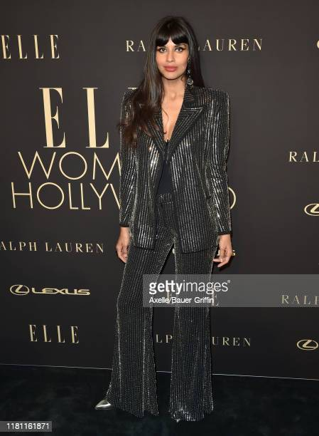 Jameela Jamil attends the 2019 ELLE Women In Hollywood at the Beverly Wilshire Four Seasons Hotel on October 14, 2019 in Beverly Hills, California.
