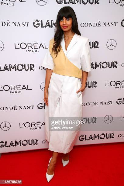 Jameela Jamil attends the 2019 Glamour Women Of The Year Summit at Alice Tully Hall on November 10, 2019 in New York City.
